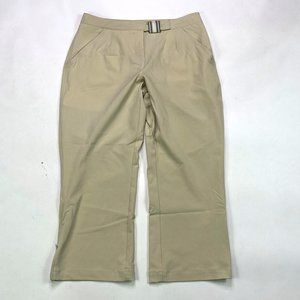 Nike Golf Cropped Ankle Zip Dri Fit Womens Size 8